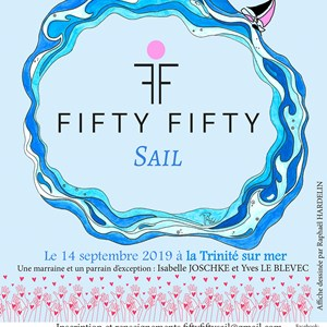 La Trinité-sur-Mer s'engage pour la Fifty Fifty Sail et Women Safe Institut