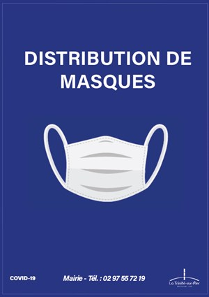 Masques disponibles à la mairie